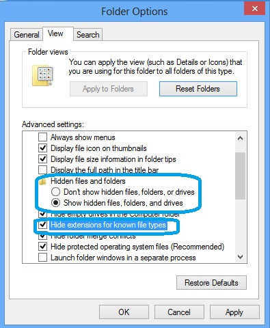 how to delete all hidden files in windows 7